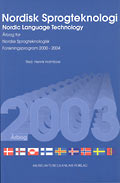 Nordisk sprogteknologi 2003 - Nordic Language Technology 2003