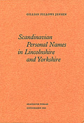 Scandinavian Personal Names in Lincolnshire and Yorkshire